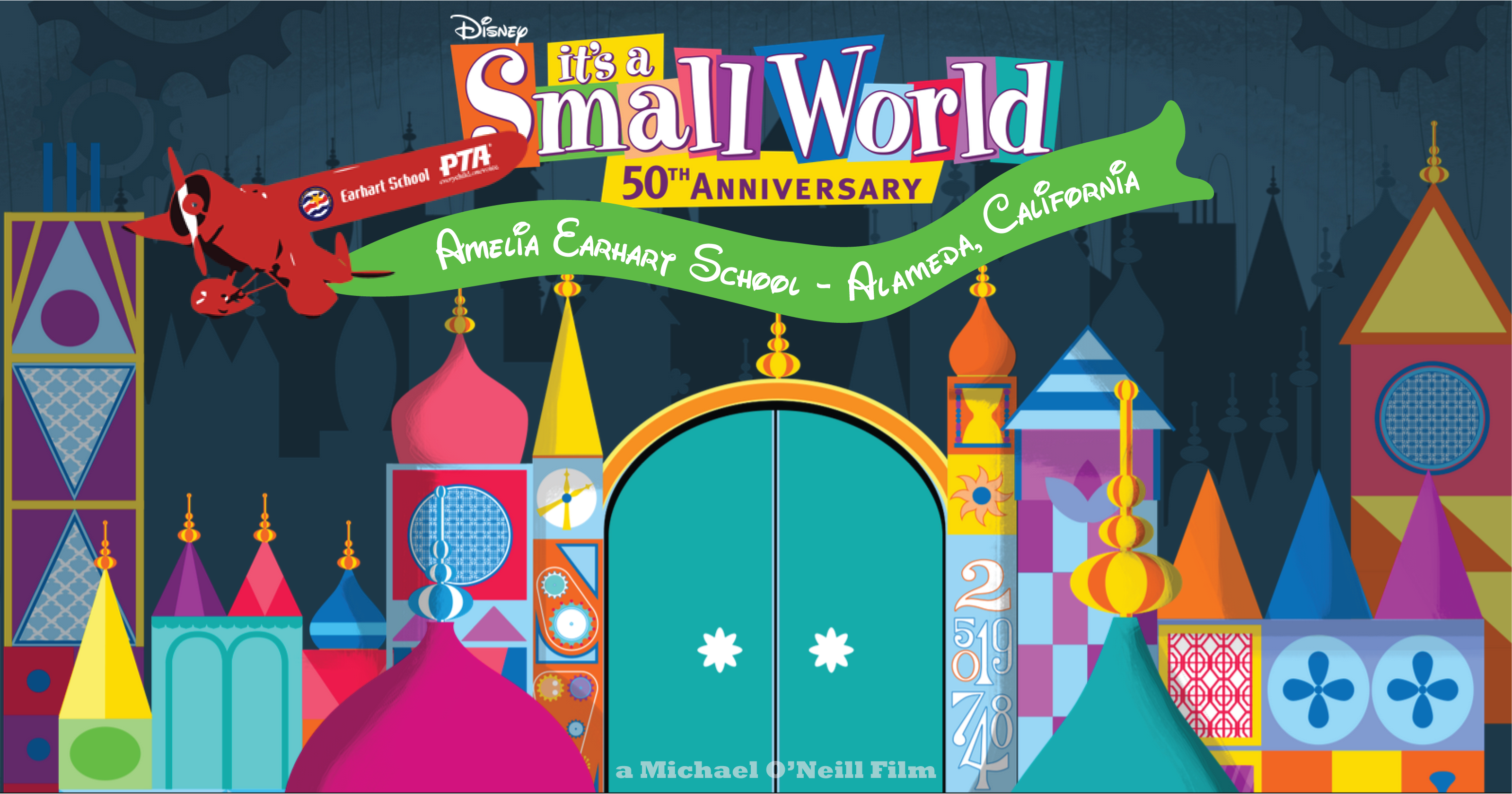 Earhart small world sing-along